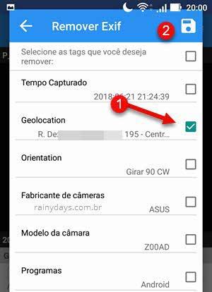 Remover Exif no Android com aplicativo Photo Exif Editor