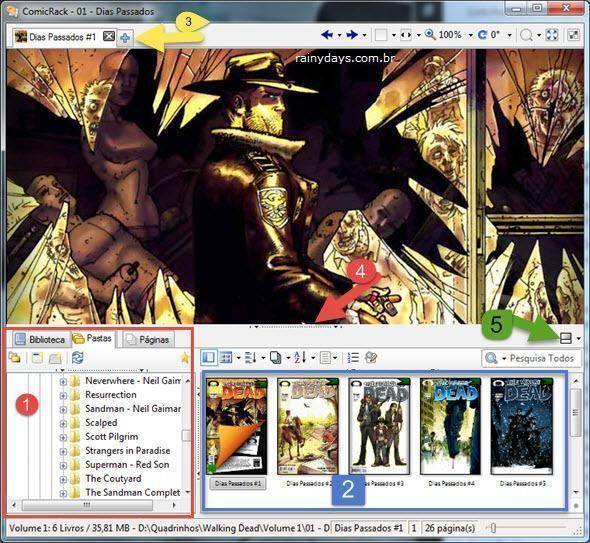 ComicRack para Ler Quadrinhos no Windows