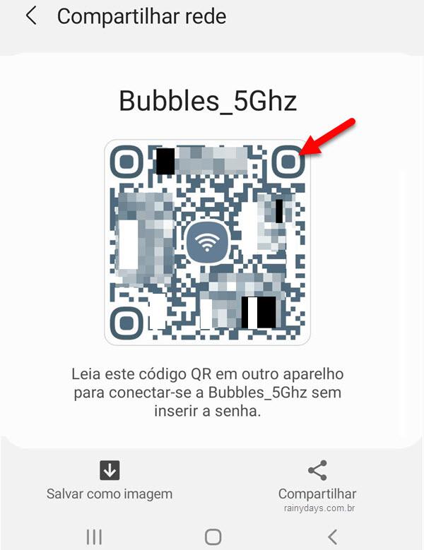 Como criar QR code da senha do WiFi no Android