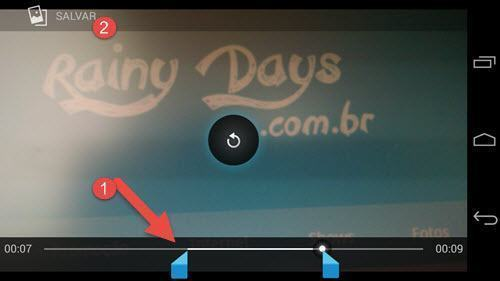 Cortar Partes de um Vídeo no Android