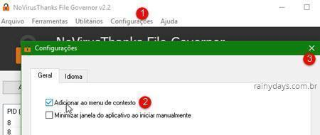 Excluir arquivos e pastas bloqueados do Windows 7