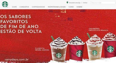 Excluir conta da Starbucks permanentemente