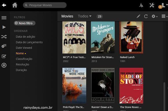 Stream de vídeos do Windows para outros dispositivos na rede