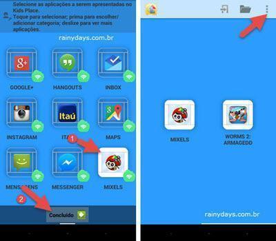 Configurar Android para criança usar 3