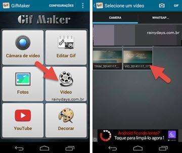 Como criar GIFs no Android rapidamente