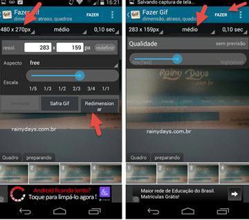 Como criar GIFs no Android rapidamente 4