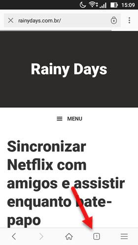ícone quadrado Opera Android