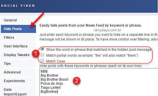 Como bloquear Big Brother no Facebook