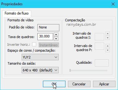 Como gravar webcam com VLC 2