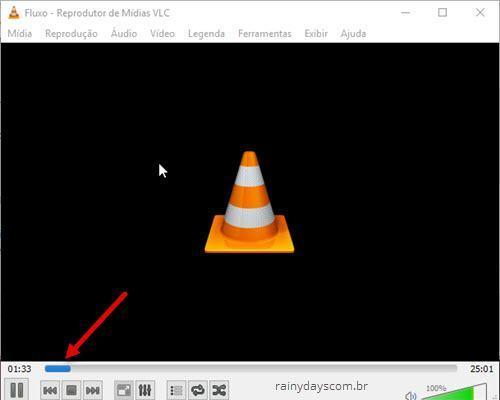 conversão de arquivo no VLC