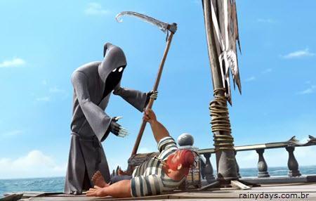 Curta de Animação Dji. Death Sails