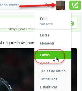 filtros no Twitter com Open Tweet Filter