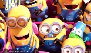 Minions no Superbowl 2015 (Vídeo)
