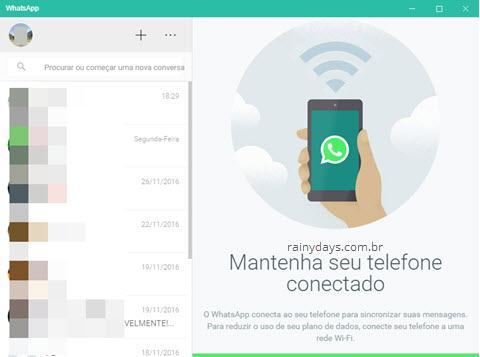 Como usar WhatsApp no computador com WhatsApp Desktop
