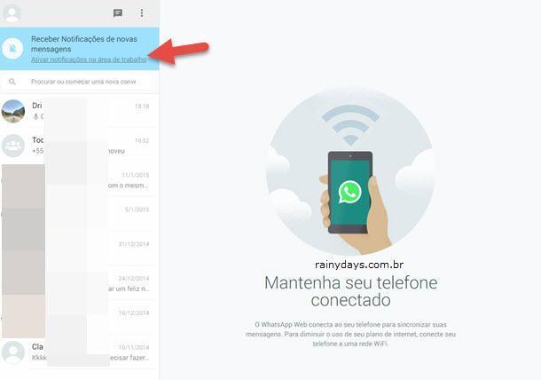 Como usar WhatsApp no computador