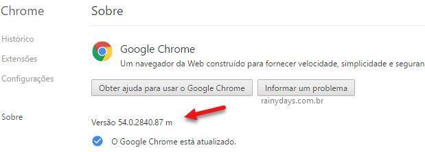 versão 32 bit do Chrome