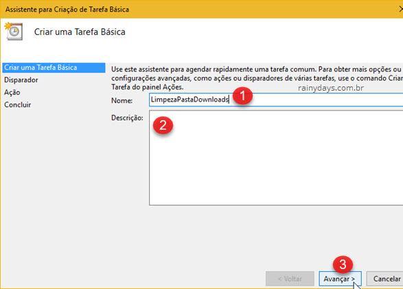 Apagar automaticamente arquivos de uma pasta Windows