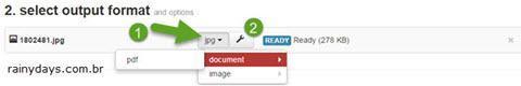 Converter arquivos direto para Dropbox 3