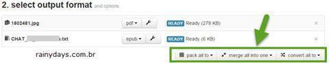Converter arquivos direto para Dropbox 4