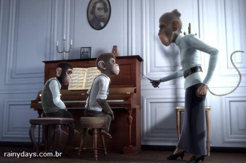 Curta de Animação Monkey Symphony