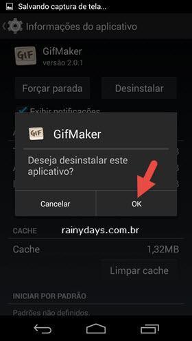 Desinstalar Aplicativos no Android