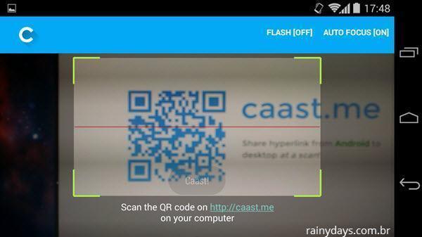 Enviar Links do Android para o Computador