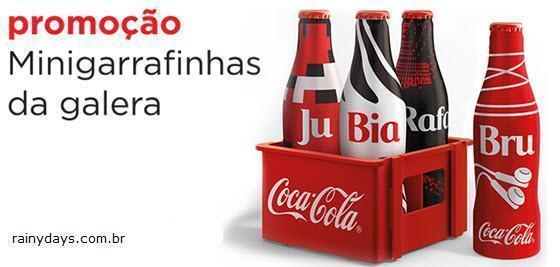 Minigarrafinhas da Galera Coca-Cola