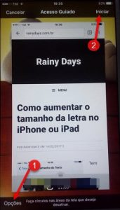 Bloquear apps do iPhone deixando apenas um disponível