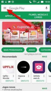 Proteger as compras da Google Play com senha