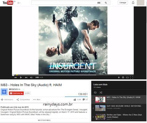 Criar Playlists no YouTube Sem Ter Conta