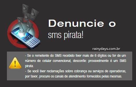 Como denunciar SMS spam que chega no celular