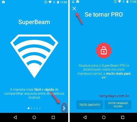 instalando Superbeam no Android