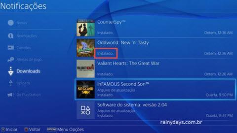 PS4 Erro NW-31250-1