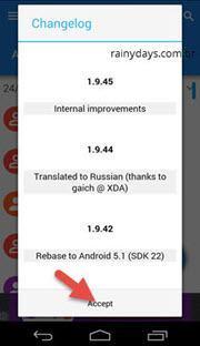salvar ligações e SMS do Android 3