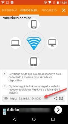 Transferir arquivos pelo wifi direct no Moto X (1)