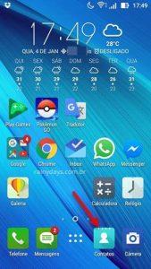 Como fazer backup dos contatos do Android