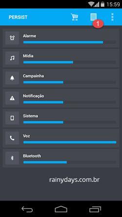 Controlar e Administrar Volume no Android