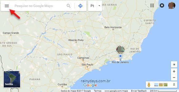 amigos compartilhando local pelo Google Maps