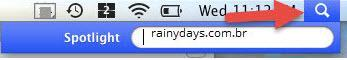 limpar cache do DNS no Mac 1