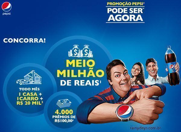Promoção Pepsi Pode Ser Agora