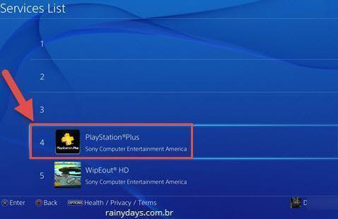 ver quanto tempo falta para PS Plus expirar 5