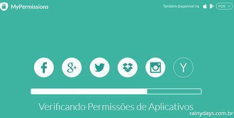 Verificar permissões de aplicativos 2