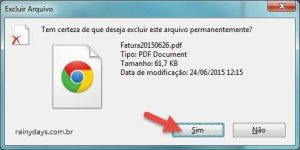 Como apagar arquivos sem jogar na lixeira do Windows