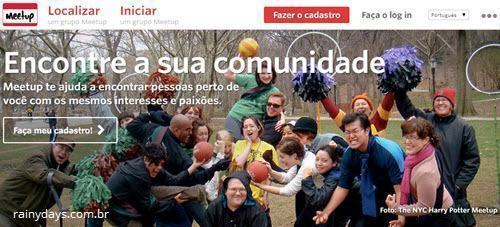 Excluir Conta do Meetup