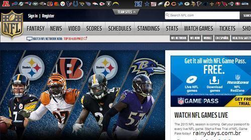 Excluir Conta do NFL.com