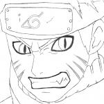 Desenhos para imprimir e colorir do Naruto