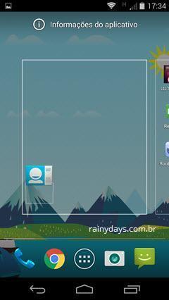 Adicionar Widget de um Contato na Tela do Android