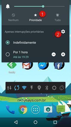 Configurar Prioridade no Android Lollipop