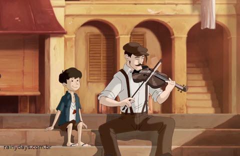 Curta de Animação The Violin