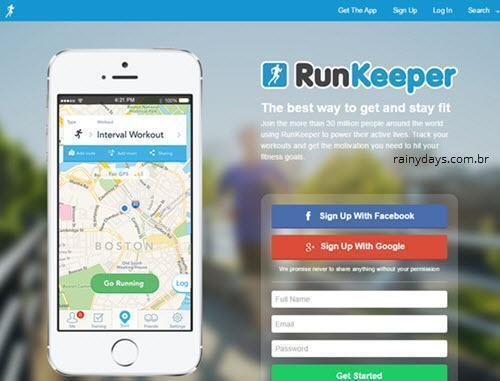 Excluir Conta do RunKeeper